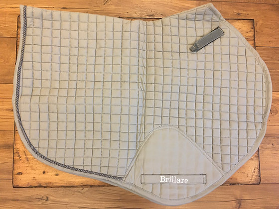 Brillare Close Contact Saddlepad Grey