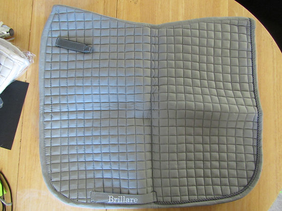 Brillare Plain Dressage Square Grey