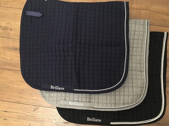 Brillare Diamante Trim Dressage pad