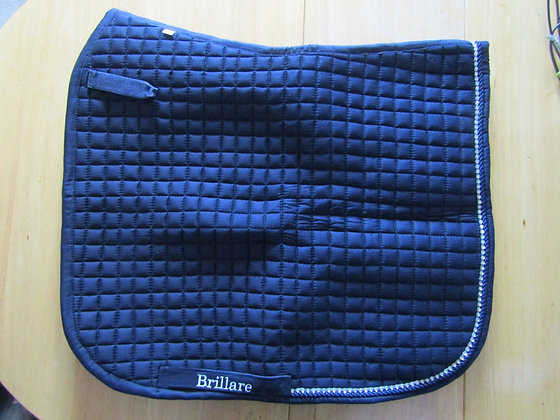 Brillare Diamante Trim Dressage Square Navy