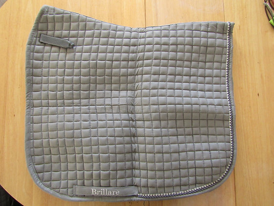 Brillare Diamante Trim Dressage Square Grey