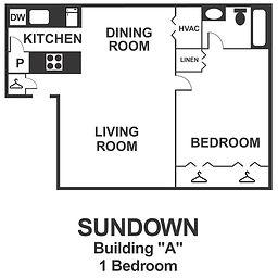 Sundown 1 Bedroom