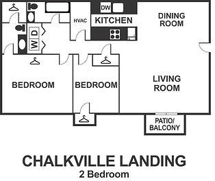 Chalkville Landing 2 Bedroom