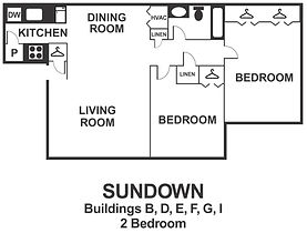 Sundown 2 Bedroom