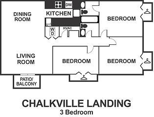 Chalkville Landing 3 Bedroom