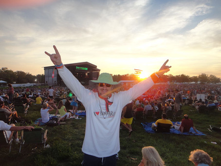Bonnaroo Chris finds 'temporary utopia' at the festival