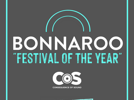 """Bonnaroo named """"Festival of the Year"""" by Consequence of Sound"""