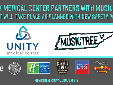 Unity Medical Center & Musictree partner to implement safety plans, Festival to proceed in September