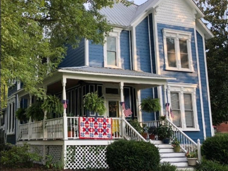 Sit a spell at the Blue Victorian in Wartrace and find respite, history, good spirits