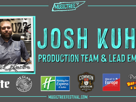 102.9 The Buzz Jock, Josh Kuhn, joins Musictree Festival Production Team and Lead Emcee