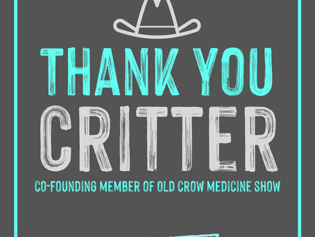 Old Crow Medicine Show Part Ways With Founding Member Critter Fuqua