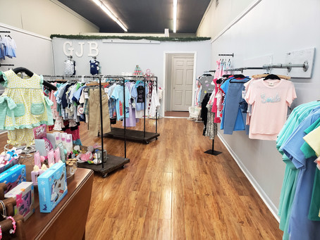 Find quality children's clothing, accessories, unmatched customer service at Gingham Jellybean