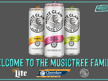 White Claw joins Miller Lite as title partners for the 2020 Musictree Festival