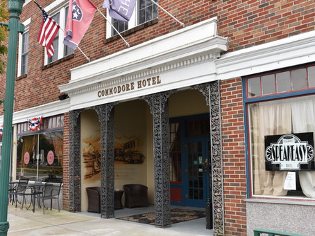 Daytrips: Secrets Storytelling, Sights, and Sounds. Linden & Hohenwald, Tennessee