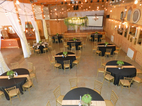 Bell Buckle Banquet Hall offers elegant and rustic space for concerts, weddings, seminars