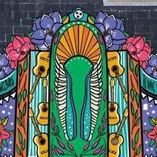 Gospel Music Mural by Whitney Herrington