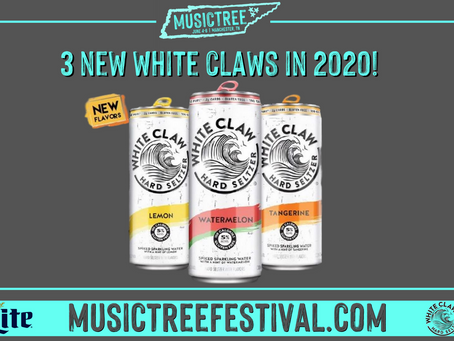 3 New White Claw Flavors to be Released in 2020