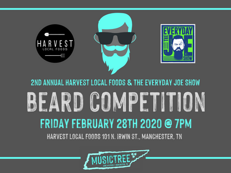 The Second Annual Beard Competition is back in Manchester!