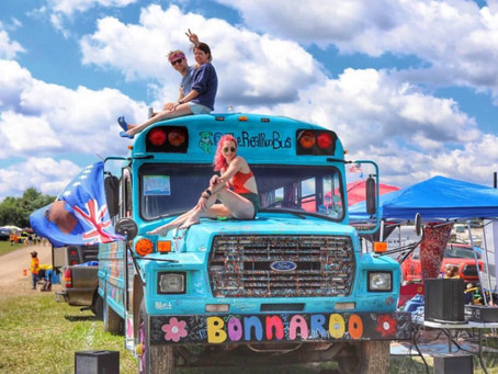 Hop on the Roo Bus for fun, music, kindness, love
