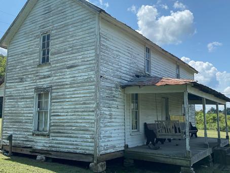 The Matt Gardner Homestead in Elkton, Tennessee