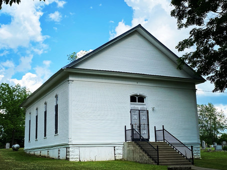 Bethbirei Church congregation, Marshall County's oldest church, outdates the county by 26 years.