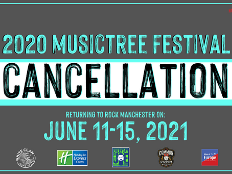 2020 Musictree Festival Canceled