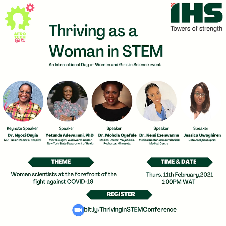 Intl Day of Women and Girls in Science Conference with IHS Nigeria