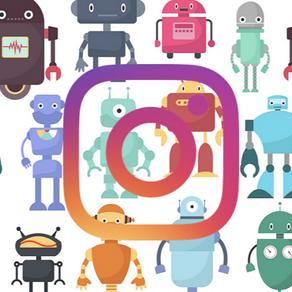 Instagram e l'invasione dei bot