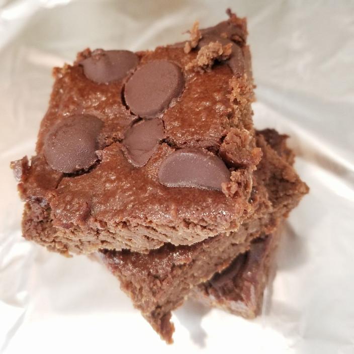 Flourless Chickpea Brownies