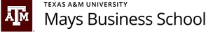 Mays Business School logo