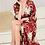 Thumbnail: Satin floral kimono