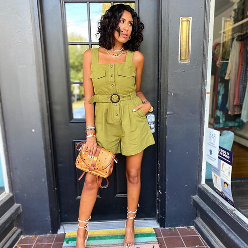 Charteuse romper