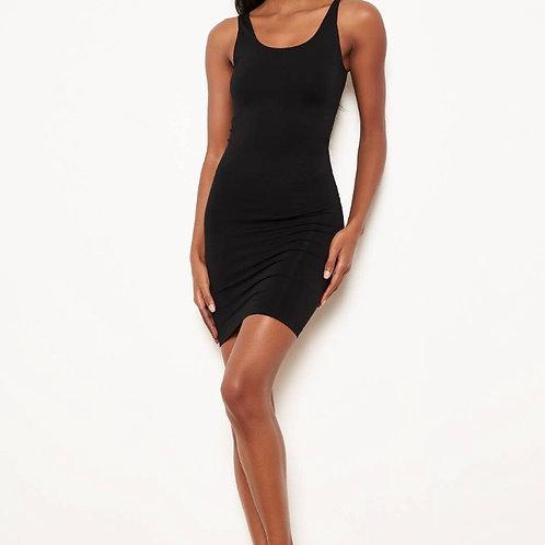 Seamless scoop neck dress