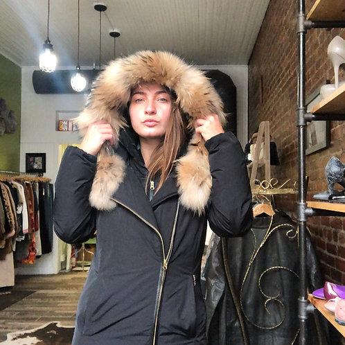 Woolrich Fur-trimmed Parka