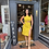 Thumbnail: Cutout Yellow Dress