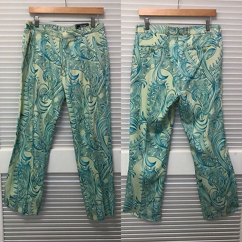 Gianni Versace Couture Print Silk Trouser