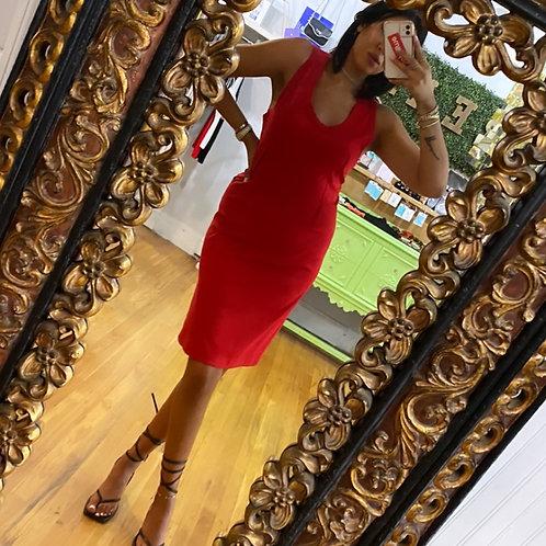 Dolce & Gabbana Red Dress