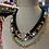 Thumbnail: Evil eye beaded necklace set