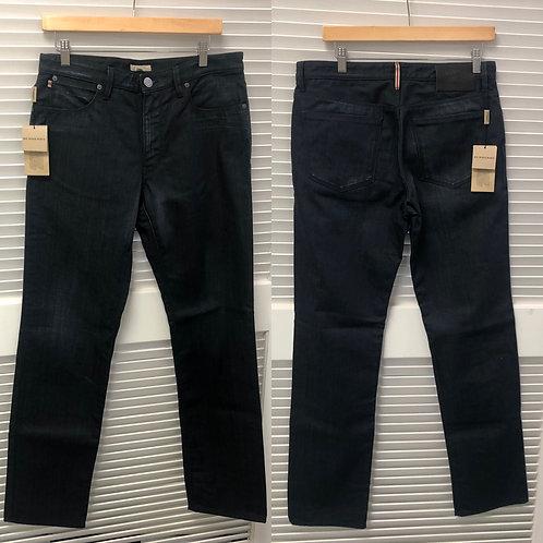 Burberry London Raw Denim Straight Leg Jeans
