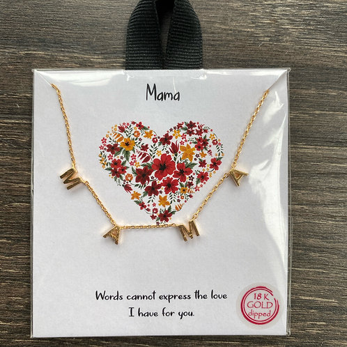 Dainty MAMA necklace