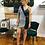 Thumbnail: One shoulder blazer dress