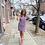 Thumbnail: Floral print shirred dress