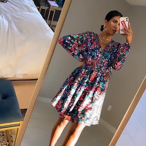 Jason Wu Silk trim floral dress