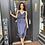 Thumbnail: Lace trimmed midi wrap dress