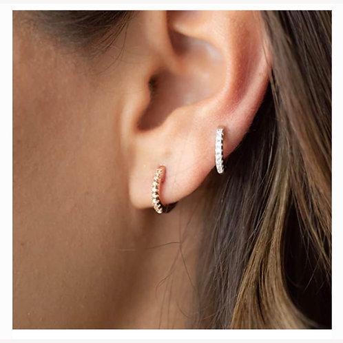 Huggies cuff earrings
