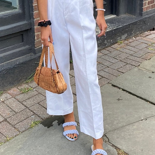 Gap Pleated Linen Pants