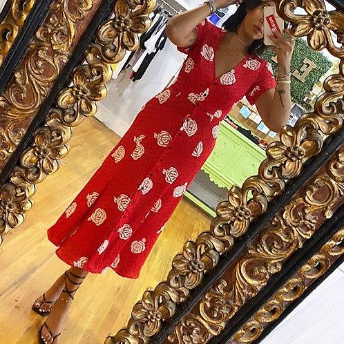 Vintage inspired midi dress