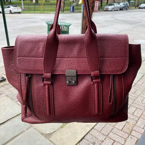 Phillip Lim Burgundy Leather Bag