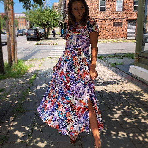 Yumi Kim Bold Print Maxi Dress