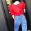 Thumbnail: Red Princess Top